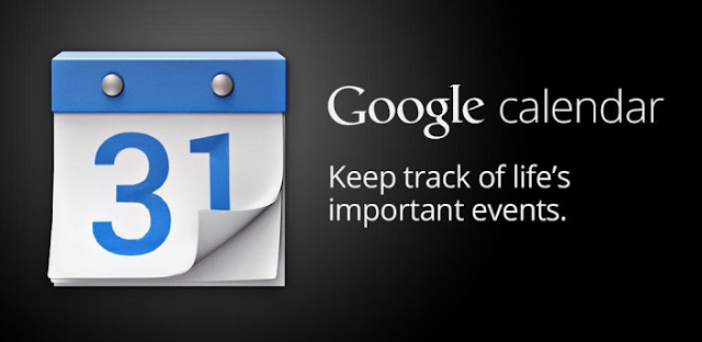 Google Calendar - keep track of life's important evets