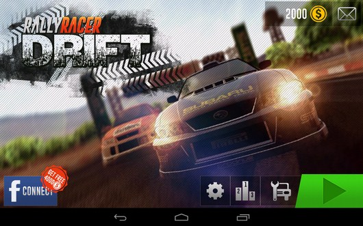 Rally Racer Drift заставка