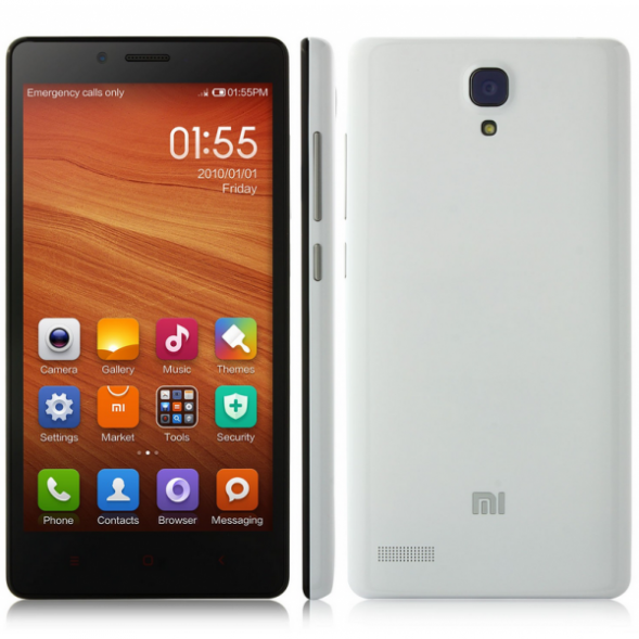 Дизайн смартфона Xiaomi Redmi Note