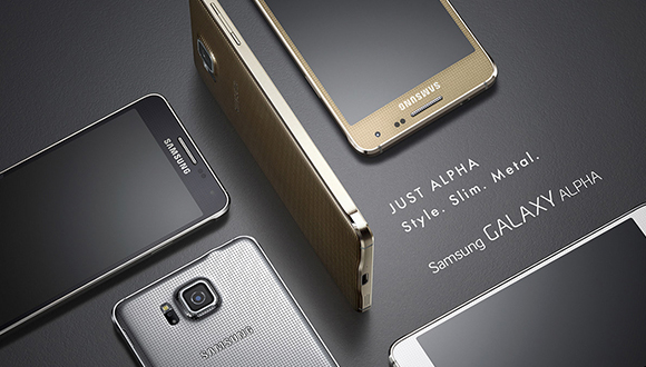 Samsung Galaxy Alpha в цвете