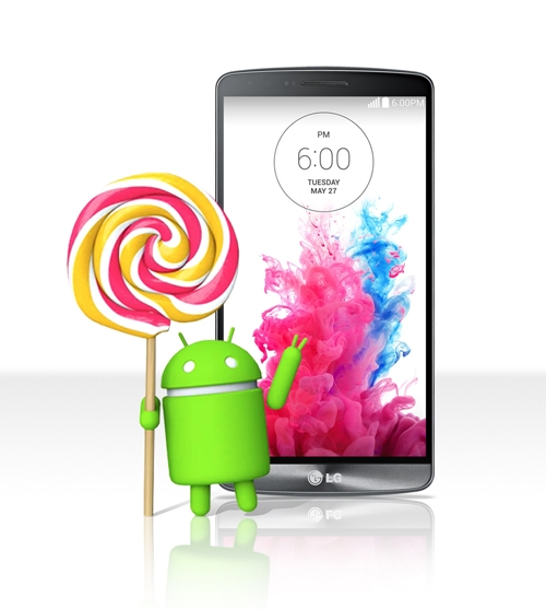 Android 5.0 Lollipop и смартфон LG G3