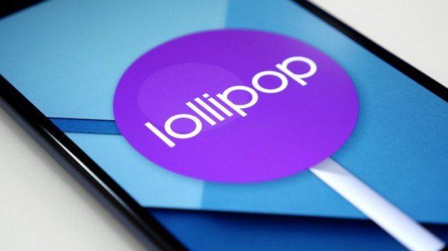 Логотип Android 5.0 Lollipop