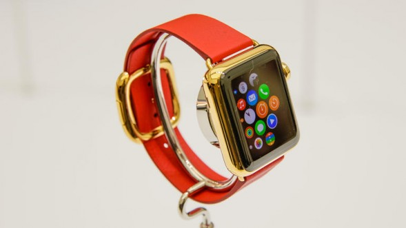 Apple Watch Edition - телефон в золоте