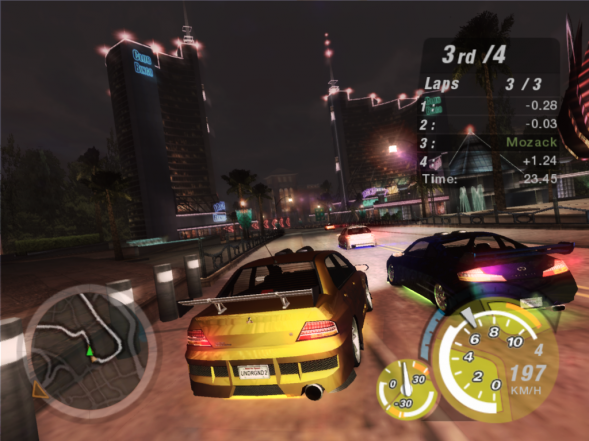Need For Speed Underground 3 на андроид